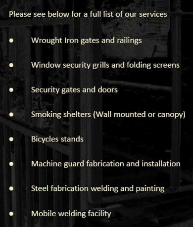 Lancashire Wrought Iron Gates